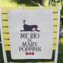 """Imagen BOLSA """"ME RIO DE MARY POPPINS"""""""