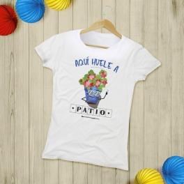 """Camiseta Mujer """"Patio"""""""