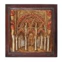Imagen Cuadro en piel arcos de la mezquita