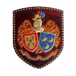 Escudo de apellidos Doble