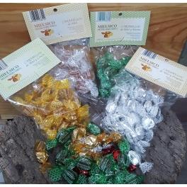 Caramelos de miel bolsitas de 90 grs