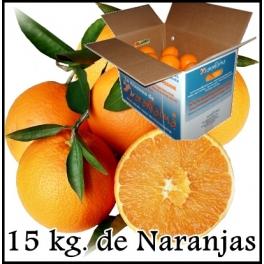 15 kg. de Naranjas de Mesa