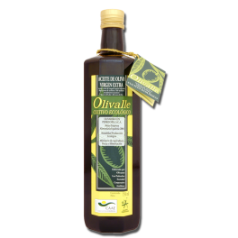 Aceite de Oliva Virgen Extra Ecológico Cristal 750cc