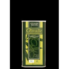 Aceite de Oliva Virgen Extra Ecológico Lata 1L