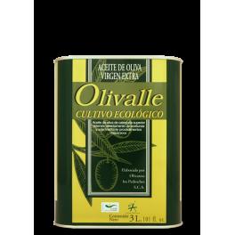 Aceite de Oliva Virgen Extra Ecológico Lata 3L