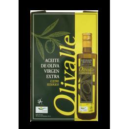 Estuche Aceite de Oliva Virgen Extra Ecológico - Cartón 3x500cc