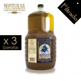 Aceite de Oliva Virgen Extra Monteoliva 5 L. (Filtrado)