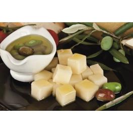 Quinkana queso de cabra curado en aceite de oliva virgen extra AOVE