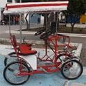 Imagen Alquiler coche pedal modelo familiar