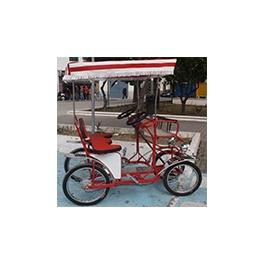 Alquiler coche pedal modelo familiar