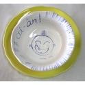 Imagen BeibiPUNK Risueño vajilla infantil