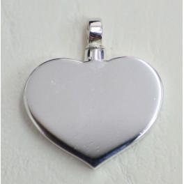Columbario de plata corazón