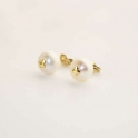 Imagen Pendiente de perla de 8mm con trébol